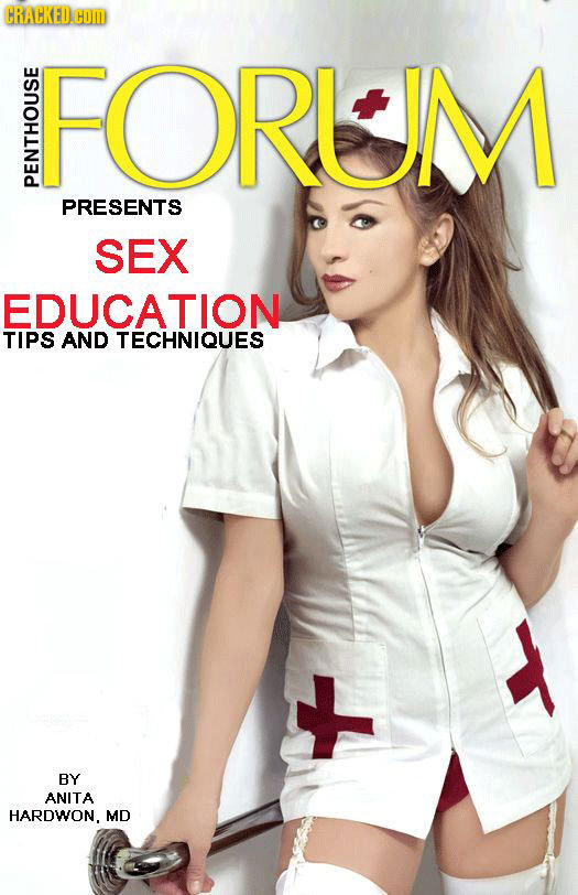 CRACKED Hom FORLM PENT PRESENTS SEX EDUCATION TIPS AND TECHNIQUES BY t ANITA HARDWON. MD