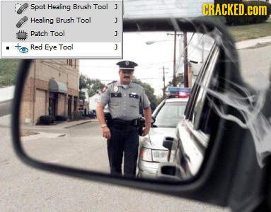 Spot Healing Brush Tool J CRACKED.COM Healing Brush Tool J Patch Tool J Red Eye Tool ]