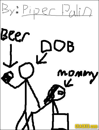 By:Piperalid LD Beer J DOB S mony CRACKED. HOM