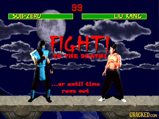 99 SUBPZERO DJU KANG FIGHT! NO VHE DEAWTH ---or Uil EiME FURs OUE CRACKED.COM
