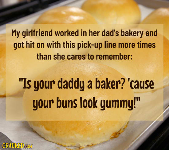 The 25 Worst Pickup Lines You've Ever Heard   Cracked com