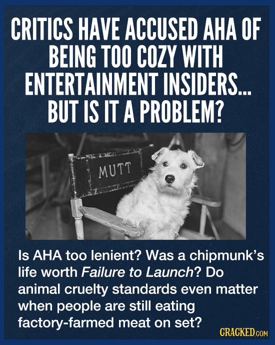 The On-Screen Animal Cruelty That Led To 'No Animals Were Harmed' Disclaimer