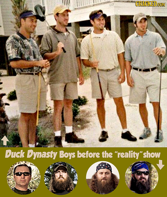 CRACKEDCONT Duck Dynasty Boys before the reality 'show