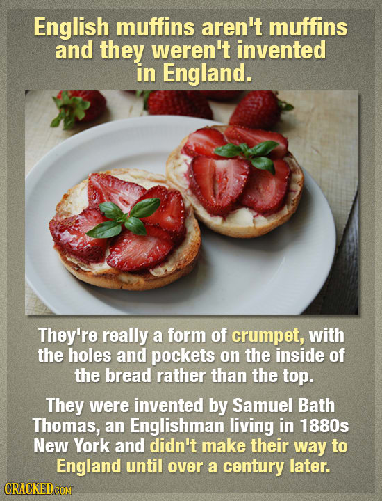 17 Weird Facts About Food That You Probably Didn't Know