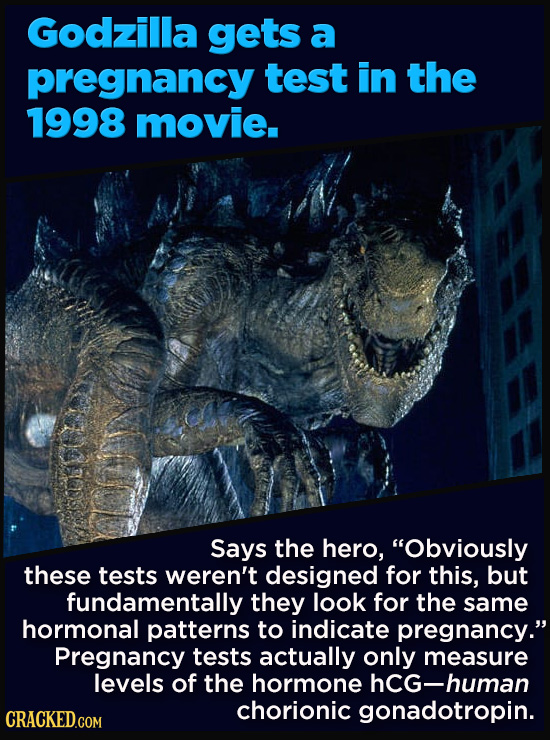 """21 Details That Movies And TV Shows Got Exactly Wrong - Says the hero, """"Obviously  these tests weren't designed for this, but fundamentally they look"""