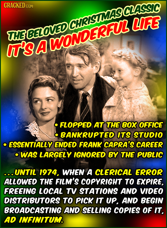 CRACKEDCo COM LIFE THE RBELOVEDCHRISUMASCLA I'S A WONDERFUL FLOPPED AT THE BOX OFFICE BANKRUPTED ITS STUDIO ESSENTIALLY ENDED FRANK CAPRA'S CAREER WAS