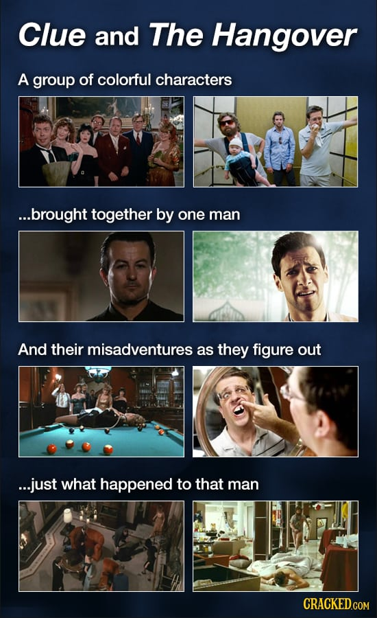 20 Movies That Stole Their Plots From Other Films