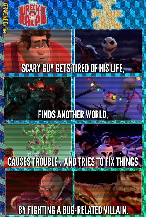 GRACKEDCOM BURTONS WRECKIT THE NIGHTMARE RALPH BEFORE HRISIMAS SCARY GUY GETS TIRED OF HIS LIFE, FINDS ANOTHER WORLD, CAUSES TROUBLE, AND TRIES TO FIX