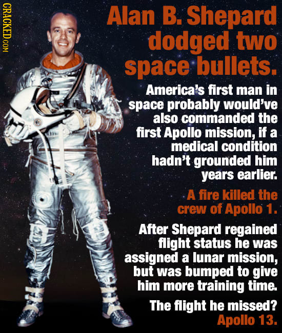 Famous People Who Dodged Huge (Sometimes Literal) Bullets