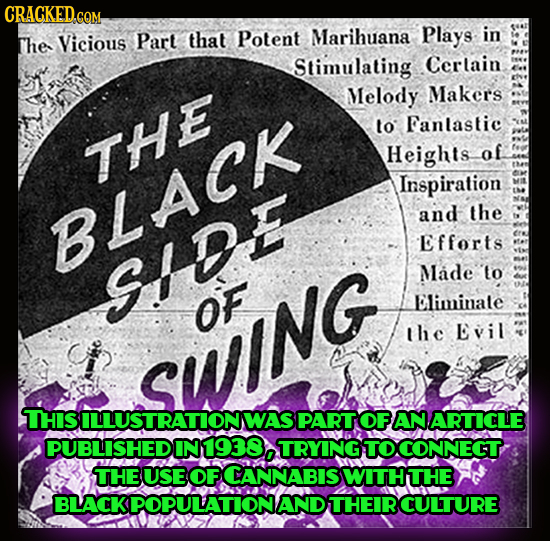 CRACKED.COM that Potent Marihuana Plays in the Vicious Part Stimulating Cerlain Melody Makers to Fanlastic THE Heights of Inspiration and the BLACK Ef