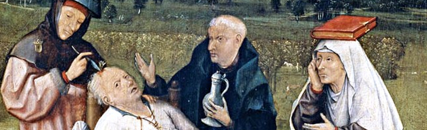 8 Ancient Pain Treatments That Were Metal As Hell