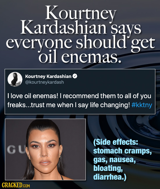 18 Terrible Pieces Of Health Advice From Famous People