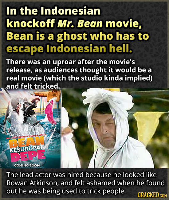 Bizarre Foreign Ripoffs Of Iconic Movies And Shows