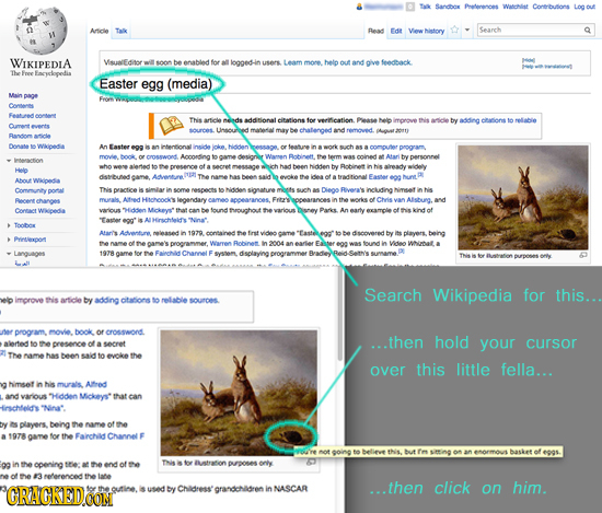 21 Awesome Real Easter Eggs Hidden on the Internet