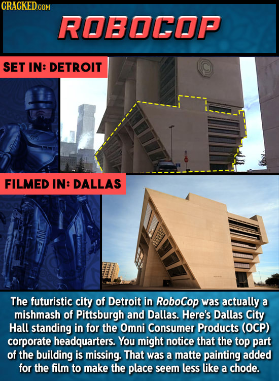 Hollywood's Laziest Attempts At Faking Movie Locations