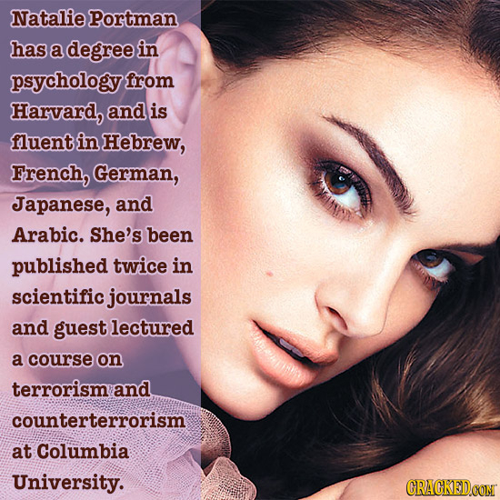 28 Impressive Real Facts About Unimpressive Famous People