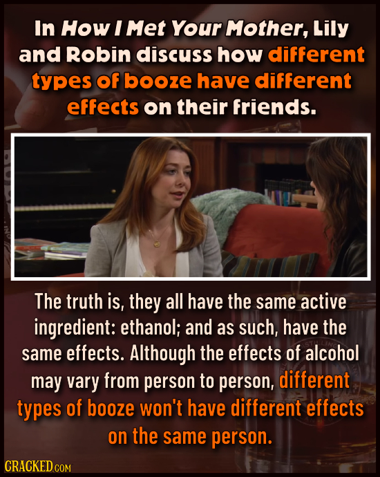 15 Movies That Obviously Know Nothing About Drugs & Alcohol