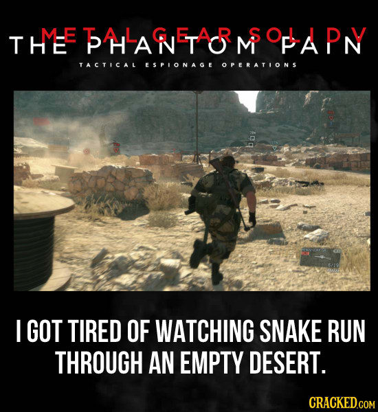 27 Video Game Moments That Made You Walk Away, Forever