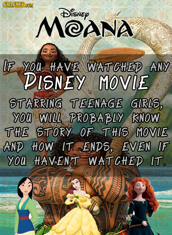 DisnEy MCANA IF you HAVE WATCHED ANY DISNEY MOVIE STARRING TEENAGE GIRLS, yoa WILL PROBABLY KNOW THE STORY OF THIS MOVIE AND HOW IT ENDS, EVEN IF you