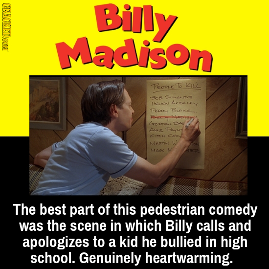 CRACKEDD.OON Billy Madison Reeple 16 KILL Pcs SIMEONID HenJ Akeave PPcRy Bink Go 2DkL BC ANALE Paynt C1C4 Ce MATN w M AK N The best part of this pedes