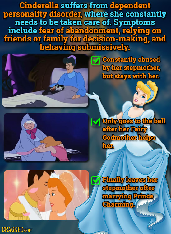 25 Famous Characters Who Probably Have Medical Conditions