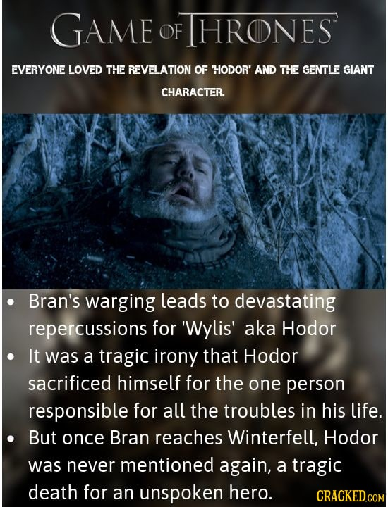 Dead Characters That Nobody Grieved Over (Or Even Noticed)