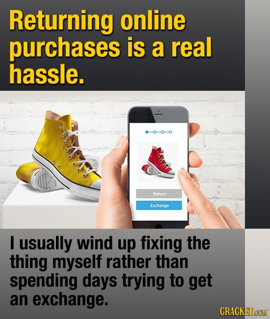All The Ways Buying Stuff Is Pointlessly Aggravating