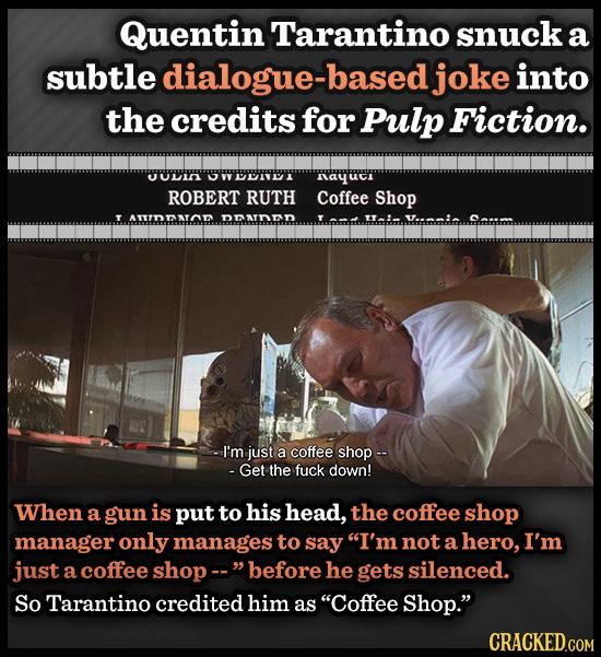 12 Brilliant Jokes Hiding In Movie Credits