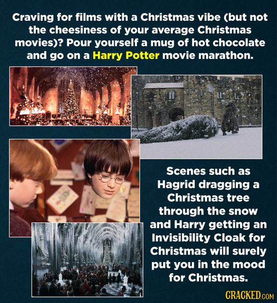 Craving for films with a Christmas vibe (but not the cheesiness of your average Christmas movies)? Pour yourself a mug of hot chocolate and go on a Ha