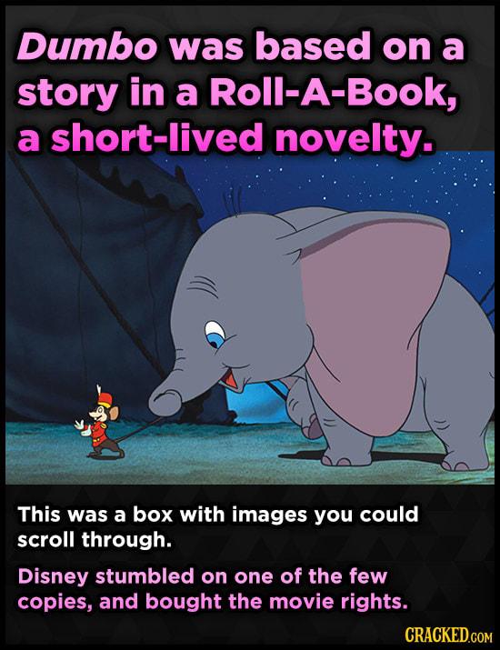 Familiar Movies With Amazingly Weird Origin Stories