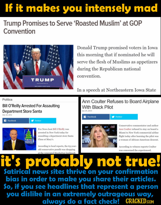 15 Underhanded Tricks By The Media To Make You Share BS News