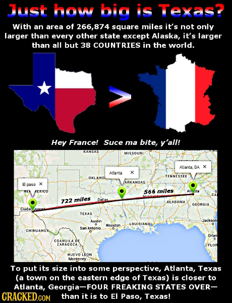 26 Brain-Breaking Real Size Comparisons