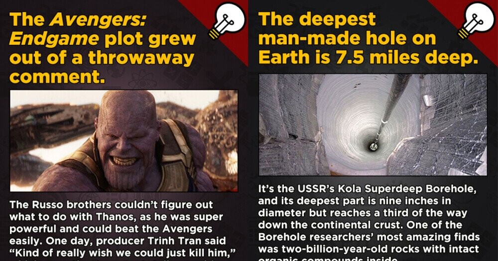 13 Movies, Science, And History Now-You-Know Fascinating Facts