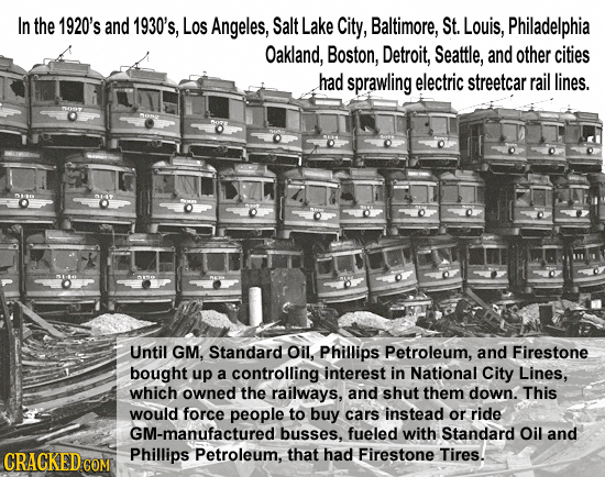 In the 1920's and 1930's, Los Angeles, Salt Lake City, Baltimore, St. Louis, Philadelphia Oakland, Boston, Detroit, Seattle, and other cities had spra