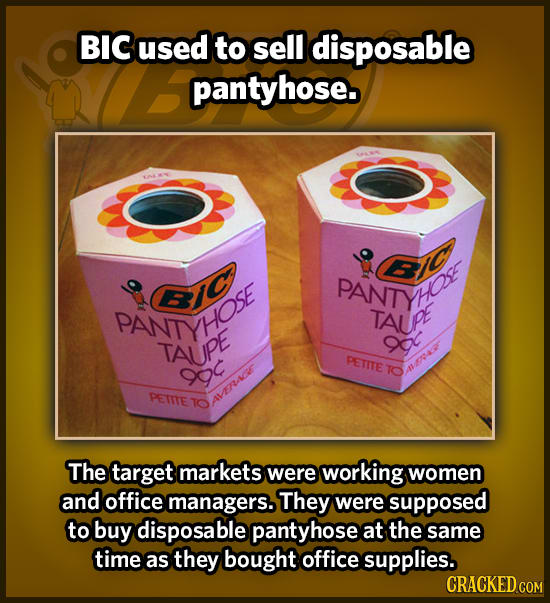 19 Baffling Products That Big Companies Actually Rolled Out