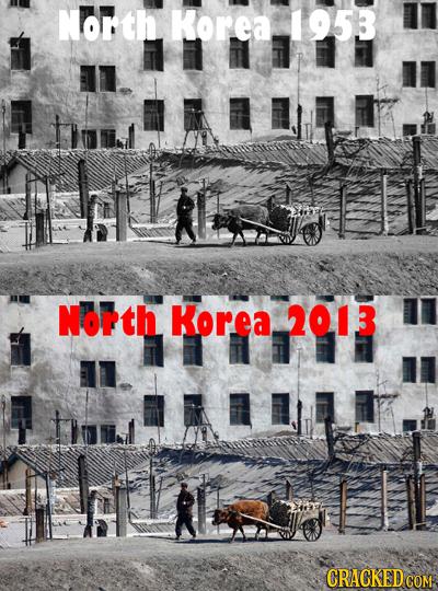 North Korea 1953 tol North Korea 2013 CRACKEDCO
