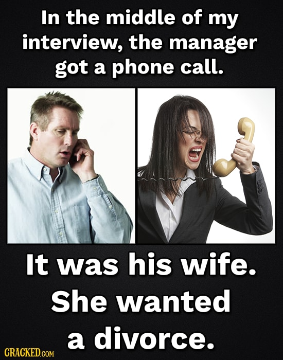 17 Real Job Interviews That Went Completely Off The Rails