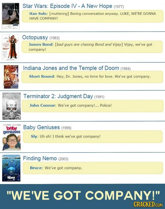 22 Movie Cliches That Just Won't Die