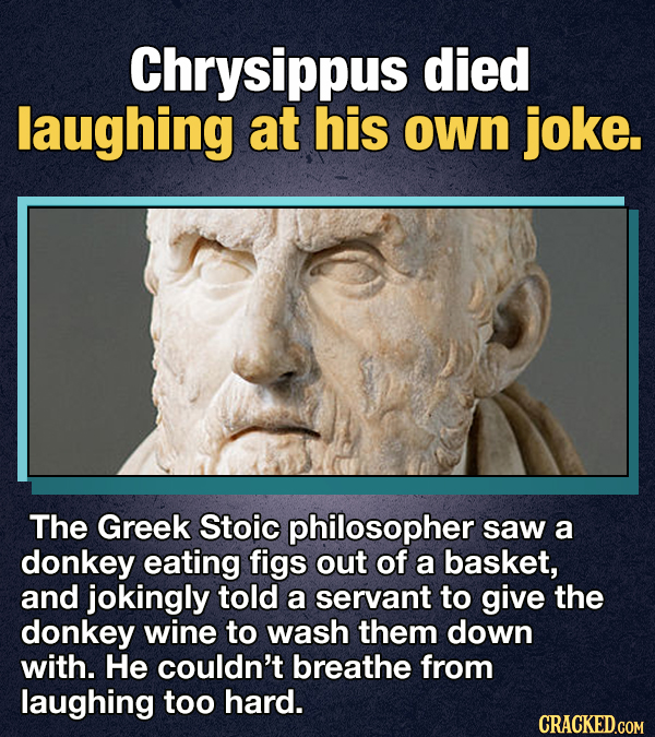14 Weird As Hell Deaths In Ancient History