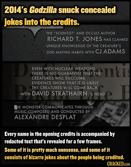 Meta Jokes Hidden In Movies And Shows