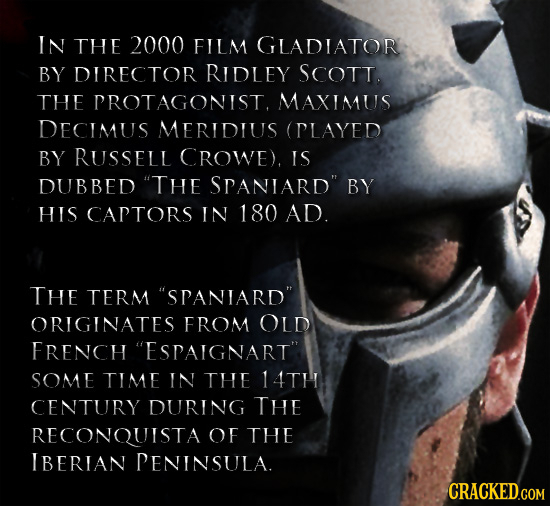 29 Historically Impossible Details in Famous Movies