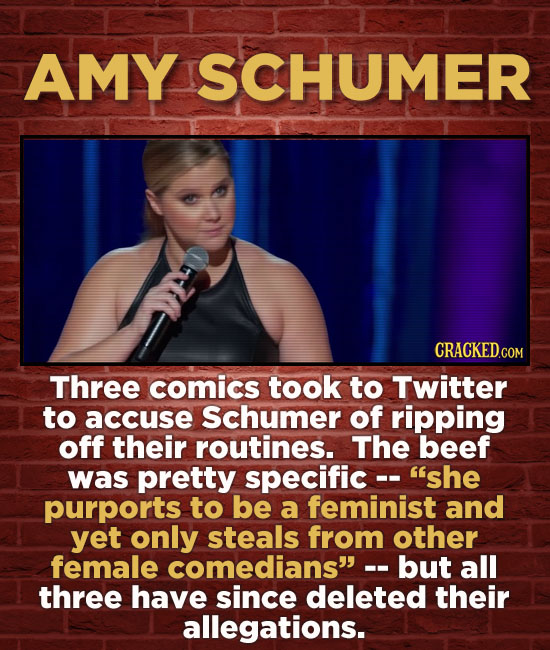 15 Comedians Who (Allegedly) Stole Jokes