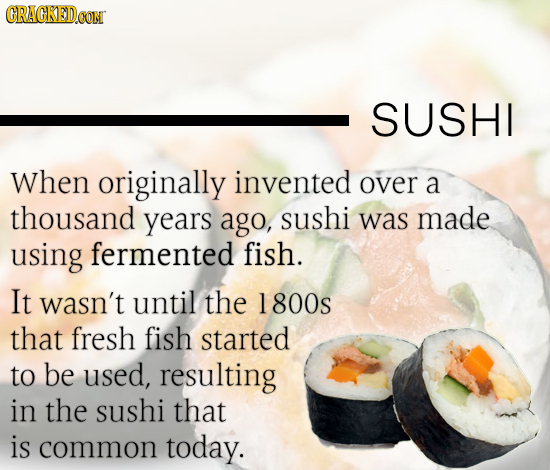 22 Foods You Didn't Know Used To Be Completely Different