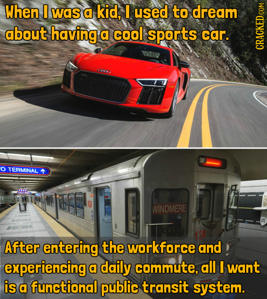 When I was a kid, I used to dream about having a cool sports car. GRAUIN OTERMINAL WINDMERE After entering the workforce and experiencing a daily comm
