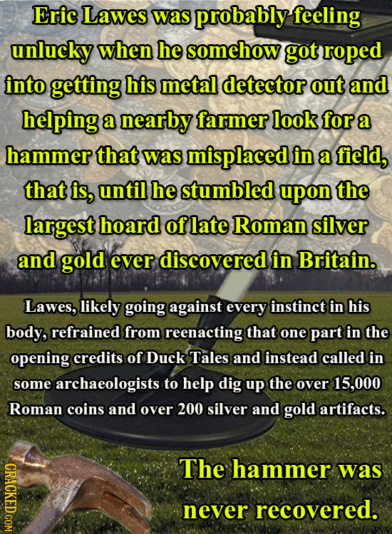 17 Insane True Stories Of Almost Supernatural Good Luck