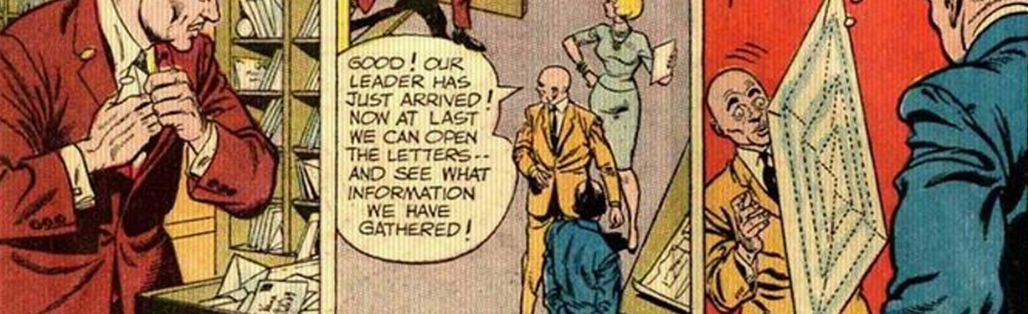 Oh, Weird: The Green Lantern Turned Into Mail One Time