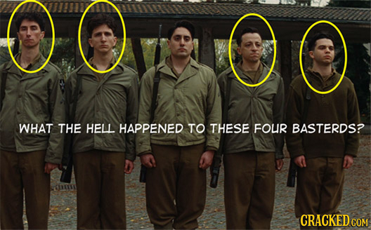 WHAT THE HELL HAPPENED TO THESE FOUR BASTERDS? h CRACKED COM