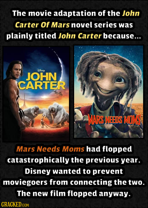 25 Movies That Were Changed For Objectively Weird Reasons