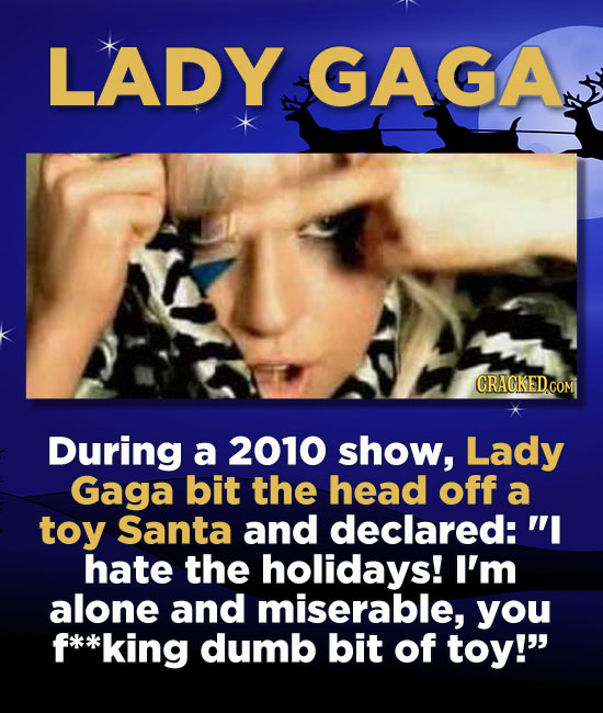 Bah Humbug: 12 Celebrity Grinches Who Hate Christmas