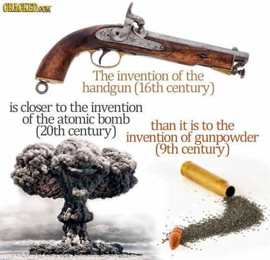 23 Insane Comparisons That Will Change How You Think of Time